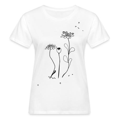Summer Flowers - Frauen Bio-T-Shirt