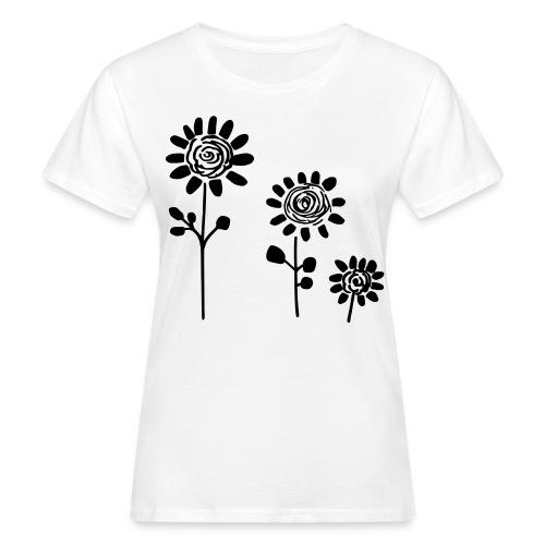 Chic Flower Dream - Frauen Bio-T-Shirt