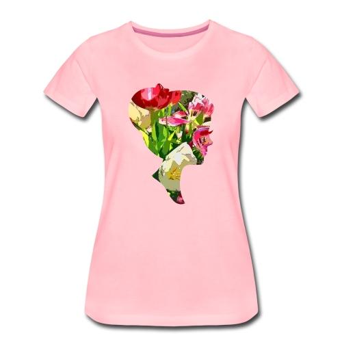 Tulpenpastrell- Dame - Frauen Premium T-Shirt
