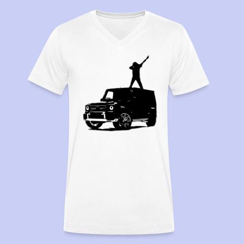 Rich München Tank - Männer Bio-T-Shirt mit V-Ausschnitt von Stanley & Stella