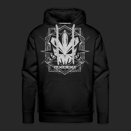 New Exode Records HS002 - Sweat-shirt à capuche Premium pour hommes