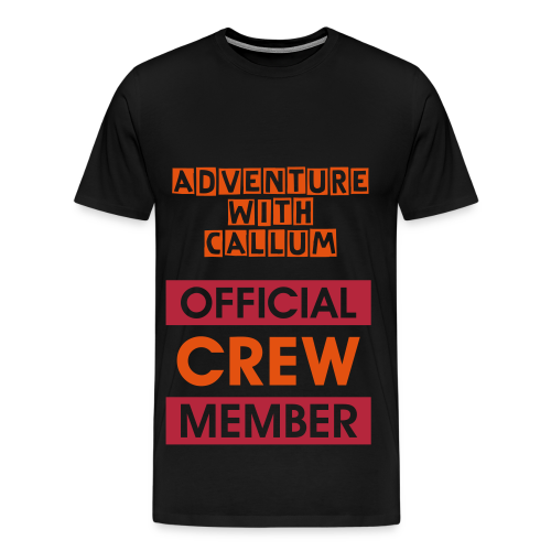 Adventure With Callum Official Crew Member - Men's Premium T-Shirt