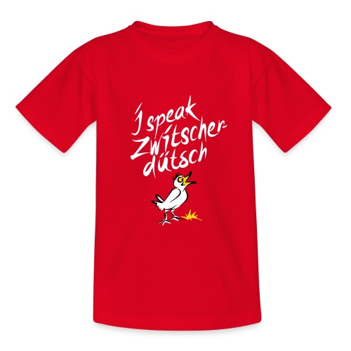 Zwitscherdütsch - Teenager T-Shirt
