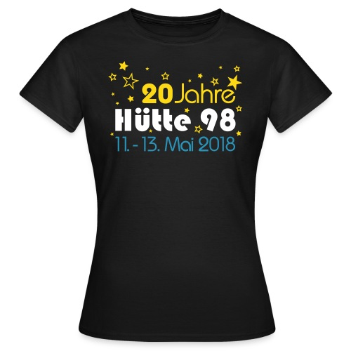 20 Jahre Shirt women B&C - Frauen T-Shirt