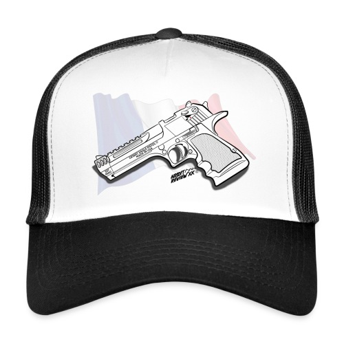 CASQUETTE GUN ADDICT DESERT EAGLE FR - Trucker Cap