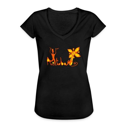 manitofleur - T-shirt vintage Femme
