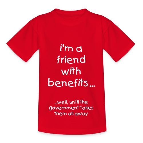i'm a friend with benefits -  KIDS - Kids' T-Shirt