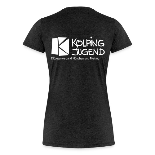 Frauen T-Shirt Kolpingjugend DV MuF Logo  - Frauen Premium T-Shirt