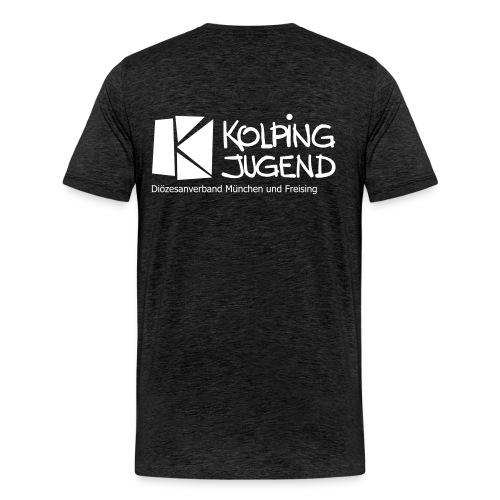 Männer T-Shirt Kolpingjugend DV MuF Logo - Männer Premium T-Shirt