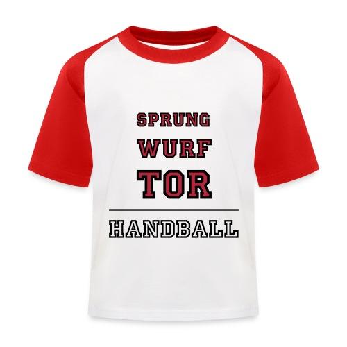 Mathildes Handball Shirt - Kinder Baseball T-Shirt