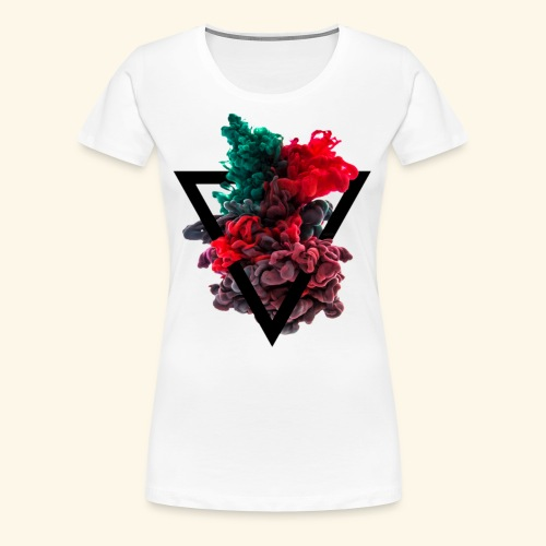 FWSBerlin Lady Farbwolke 2018 - Frauen Premium T-Shirt