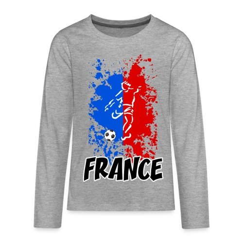 Football tricolore - Teenagers' Premium Longsleeve Shirt