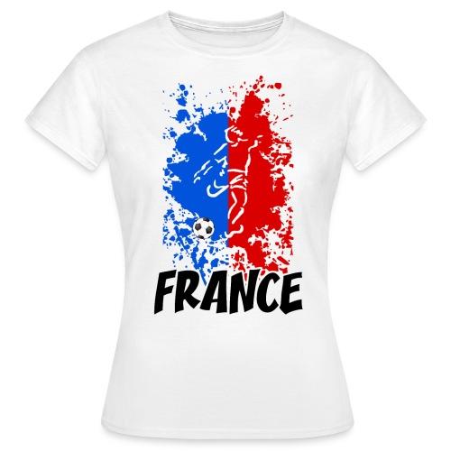 Football tricolore - Women's T-Shirt