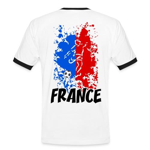 Football tricolore - Men's Ringer Shirt