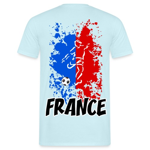 Football tricolore - Men's T-Shirt