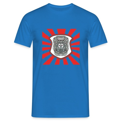 Lion Head Shield - Men's T-Shirt
