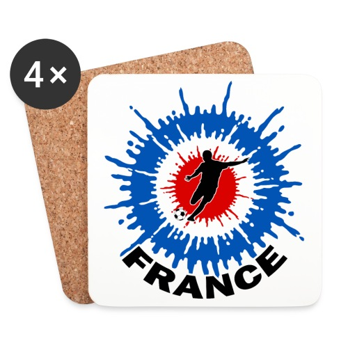 Cocarde Foot - Coasters (set of 4)