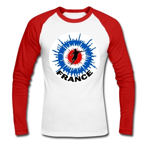 Cocarde Foot - Men's Long Sleeve Baseball T-Shirt
