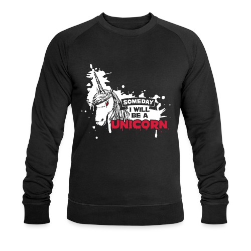 UNICORN Homme sweat noir BIO - Sweat-shirt bio Stanley & Stella Homme