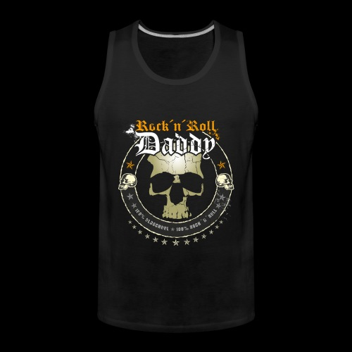 Rock 'n' Roll Daddy Shirt - Männer Premium Tank Top