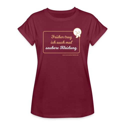 Frauen Oversize T-Shirt - T-Shirt für Hundefreunde,Hundeliebhaber,Hundehalter,Hundebesitzer T-Shirt,Hunde,Gassigehen