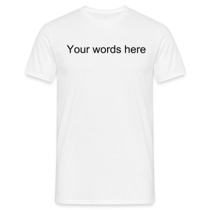 Write your own - Men's T-Shirt