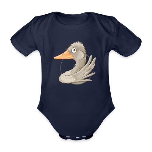 wilde Gans - Baby Bio-Kurzarm-Body - Baby Bio-Kurzarm-Body