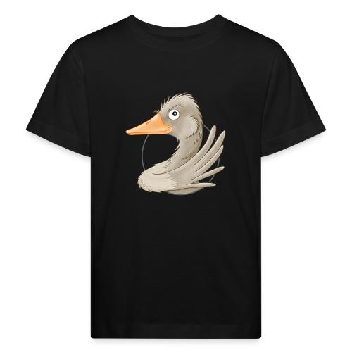 wilde Gans - Kinder Bio-T-Shirt - Kinder Bio-T-Shirt