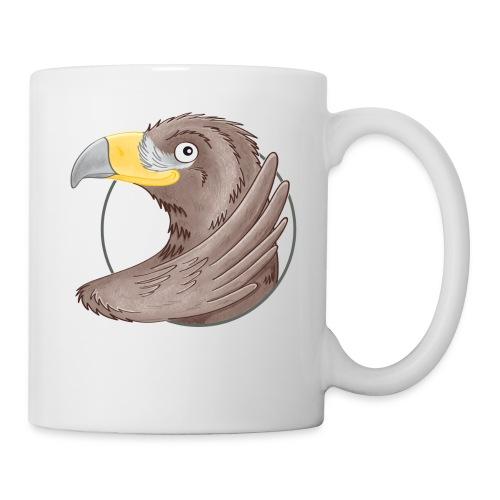 tollkühner Steinadler - Tasse weiß - Tasse