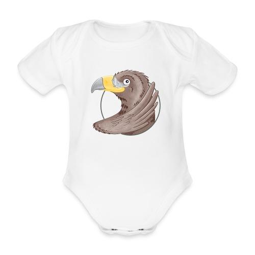 tollkühner Steinadler - Baby Bio-Kurzarm-Body - Baby Bio-Kurzarm-Body