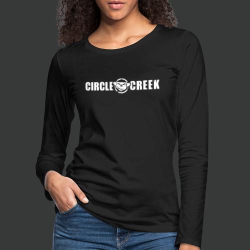 Circle Creek Logo - Frauen Premium Langarmshirt