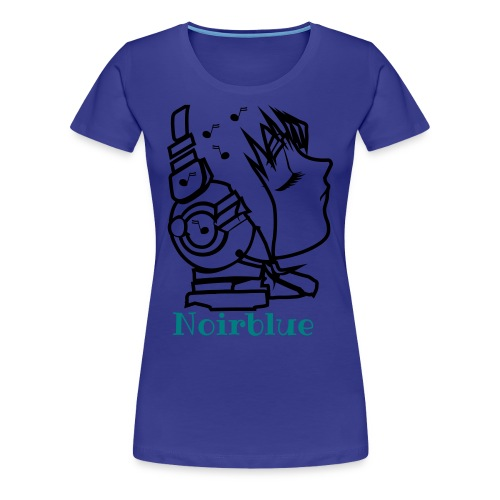 Noirblue3 - Frauen Premium T-Shirt