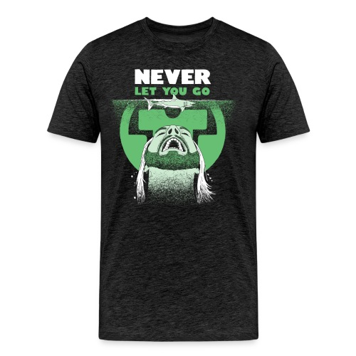 Never Let You Go - Herre premium T-shirt