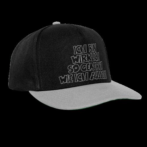 genervt - Snapback Cap