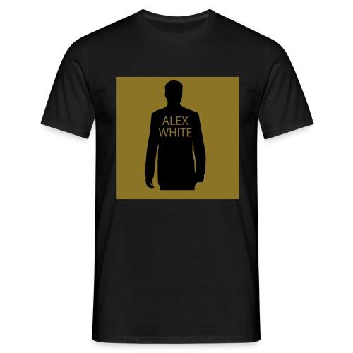 ALEX WHITE T-SHIRT- GOLD EDITION- - Männer T-Shirt