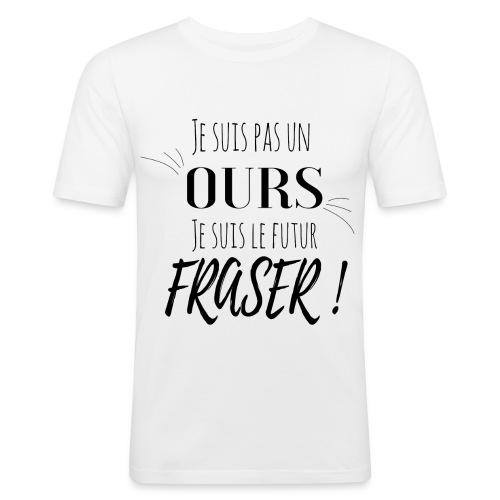 Bear crossfit - T-shirt près du corps Homme