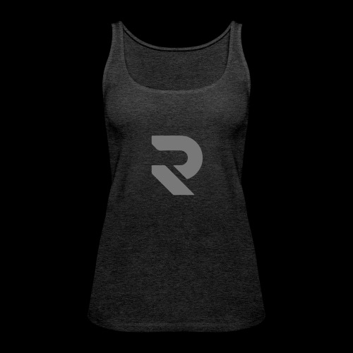 MENTAL (grey)| Damen Top / Sportoberteil by RSSL - Frauen Premium Tank Top