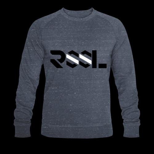 Shakespeared (grey, blue, mix) | Herren Sweatshirt by RSSL - Männer Bio-Sweatshirt von Stanley & Stella