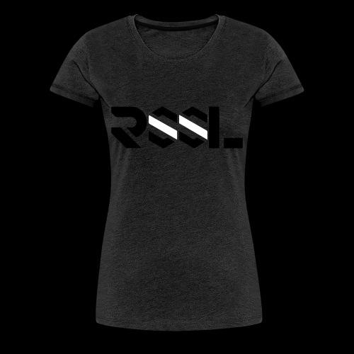 BRANDA (dark grey) | Damen T-Shirt by RSSL - Frauen Premium T-Shirt