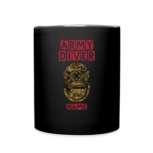 ARMY DIVER - NAME - Full Colour Mug