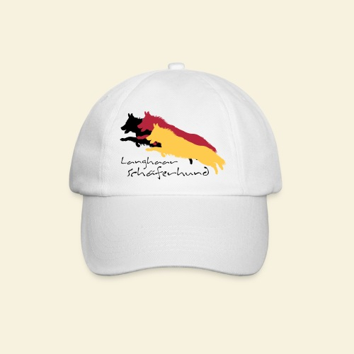 Langhaar Schäferhund - Baseballkappe