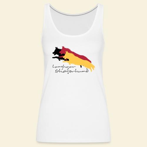 Langhaar Schäferhund - Frauen Premium Tank Top