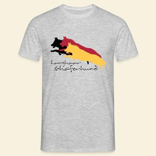Langhaar Schäferhund - Männer T-Shirt