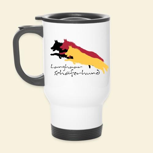 Langhaar Schäferhund - Thermobecher