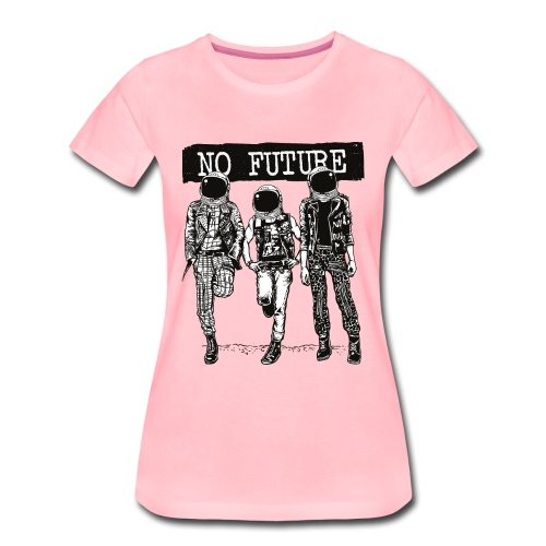No Future - Camiseta premium mujer