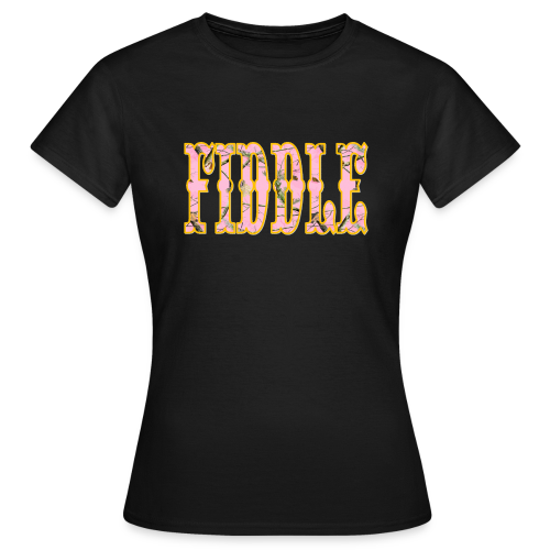 The Hatfields Country Band Fiddle Pink Camo - Frauen T-Shirt