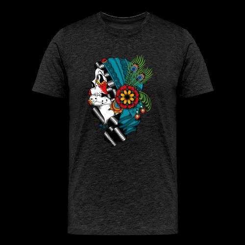 Gypsy Tattoo Design  - Männer Premium T-Shirt