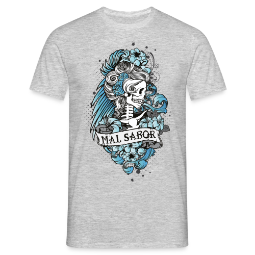 Catrina Tattoo Design - Männer T-Shirt