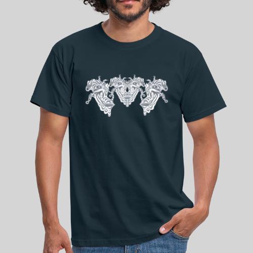 TripleFace - Männer T-Shirt
