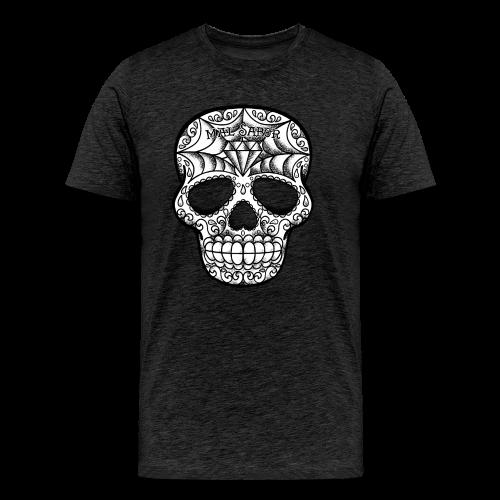 Calavera Tattoo Design BW - Männer Premium T-Shirt